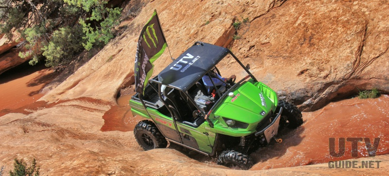 2014 Kawasaki Teryx on Golden Spike Trail