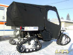 Polaris Ranger on Tracks for Emergency Services - Parkland Ambulance