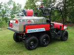 Rutgers University - Polaris Ranger 6x6 Fire and Rescue