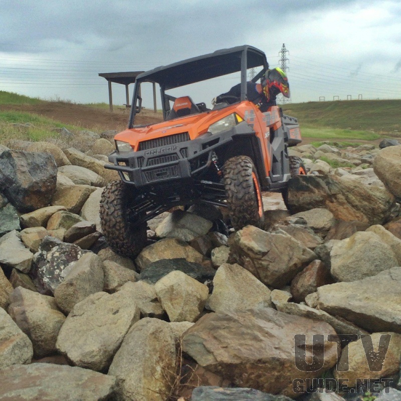 Rock Crawling in a Polaris RANGER XP 900