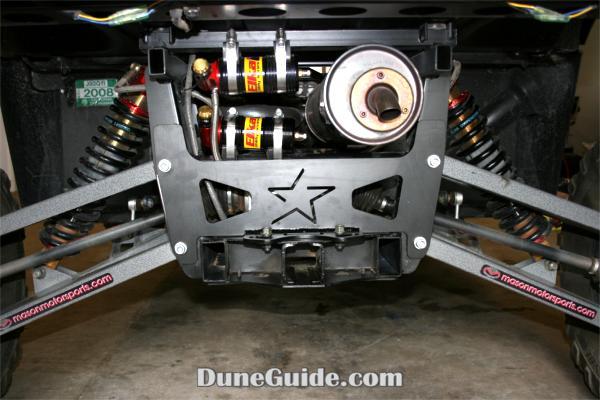 Yamaha Rhino Rear Diff Bracket