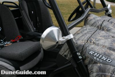 Billet Mirrors for Side-by-Side Vehicles