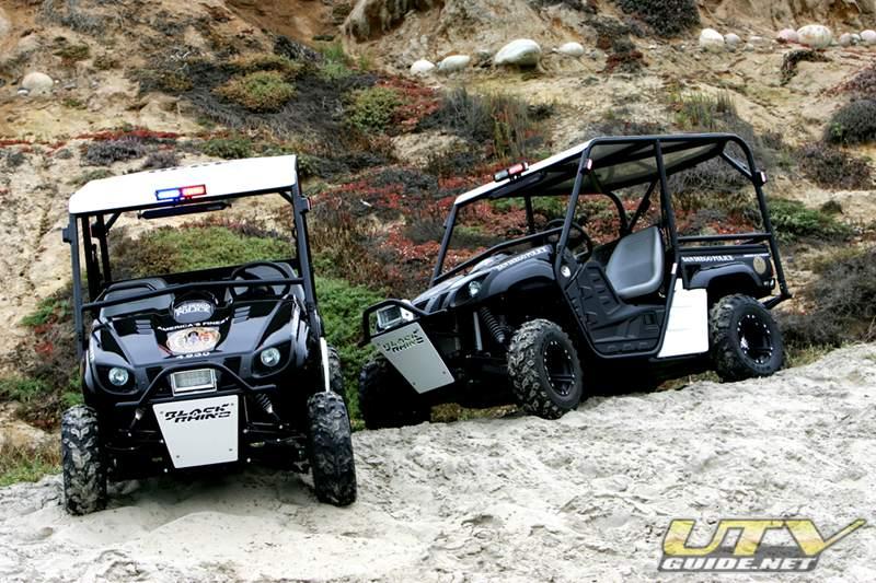 Honda Pacific Coast >> San Diego Police Department Yamaha Rhino - UTV Guide