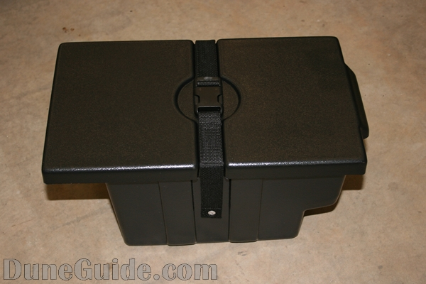 Under Hood Storage Box available from Yamaha