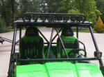 Rigid Industries Dually LEDs in light bar on Kawasaki Teryx