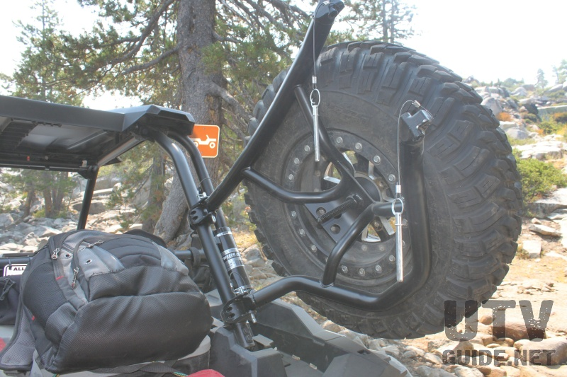 RZR XP 1000 Spare Tire Carrier