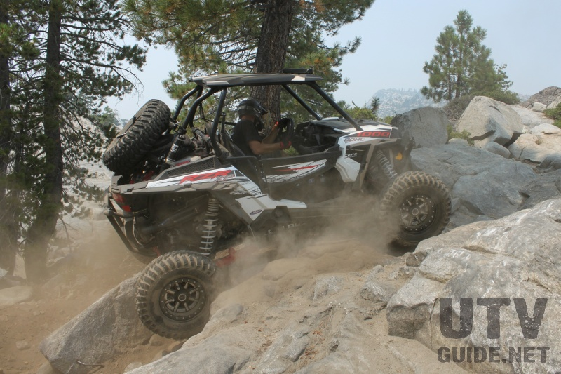 Polaris RZR XP 1000 on the Rubicon Trail