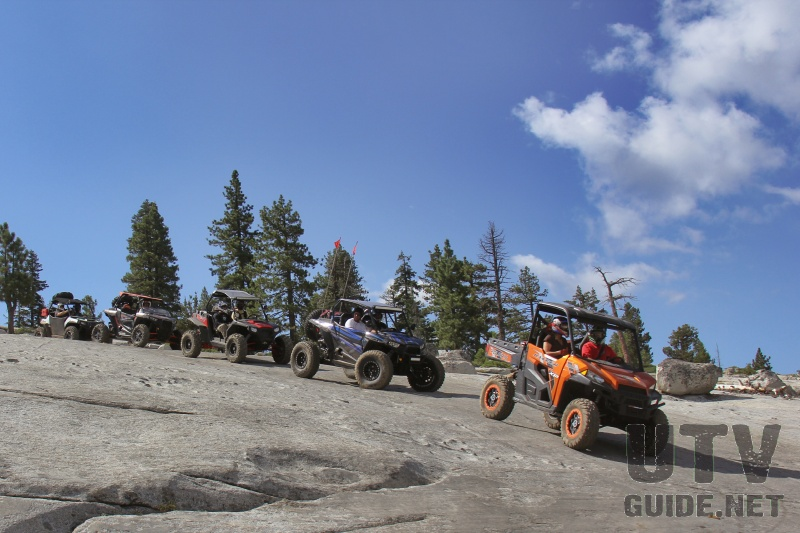 UTVs on the Rubicon Trail