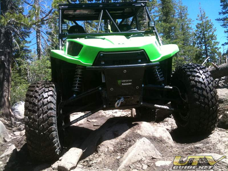 "Kawasaki Teryx Ground Clearance with 31"" Tires"