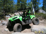 2011 Kawasaki Teryx on the Rubicon Trail