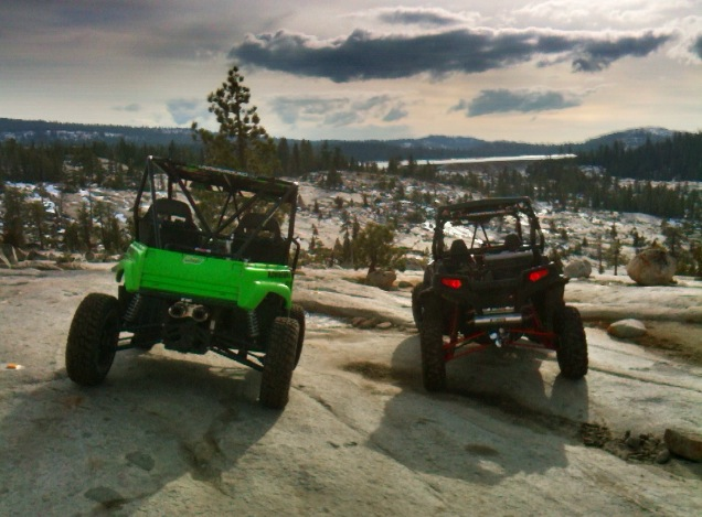 December 2011 Run on the Rubicon Trail - Kawasaki Teryx and Polaris RZR XP