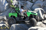 Kawasaki Teryx in Little Sluice on the Rubicon Trail