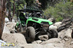 Kawasaki Teryx on Big Sluice - Rubicon Trail