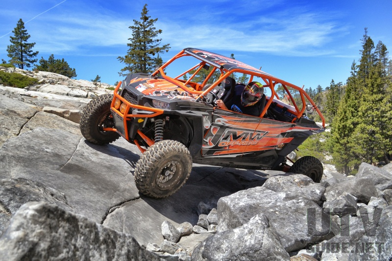 RZR XP4 on the Rubicon Trail