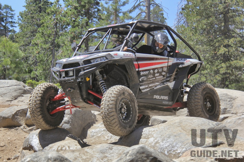 RZR XP 1000 on the Rubicon Trail