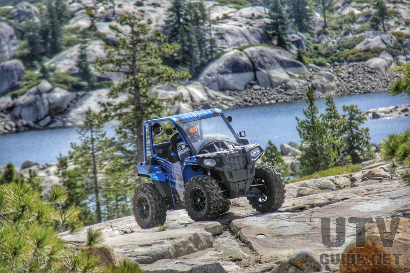 Polaris ACE on the Rubicon Trail