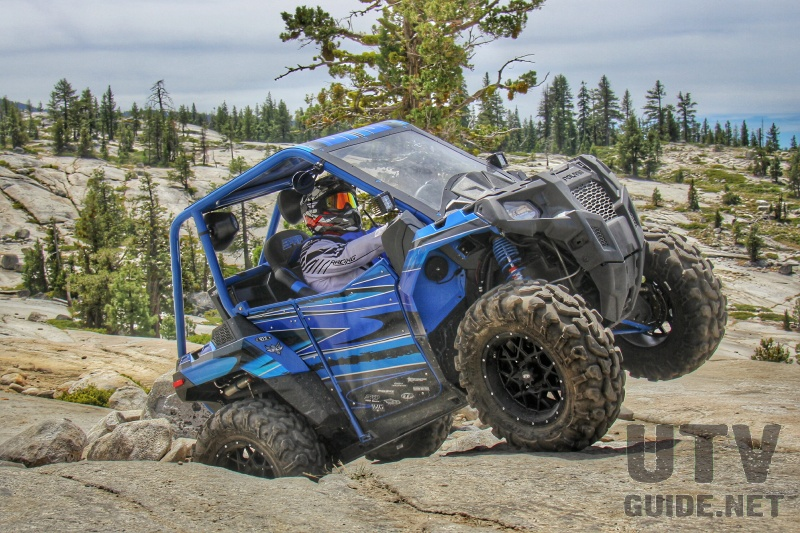Polaris ACE 570 on the Rubicon Trail