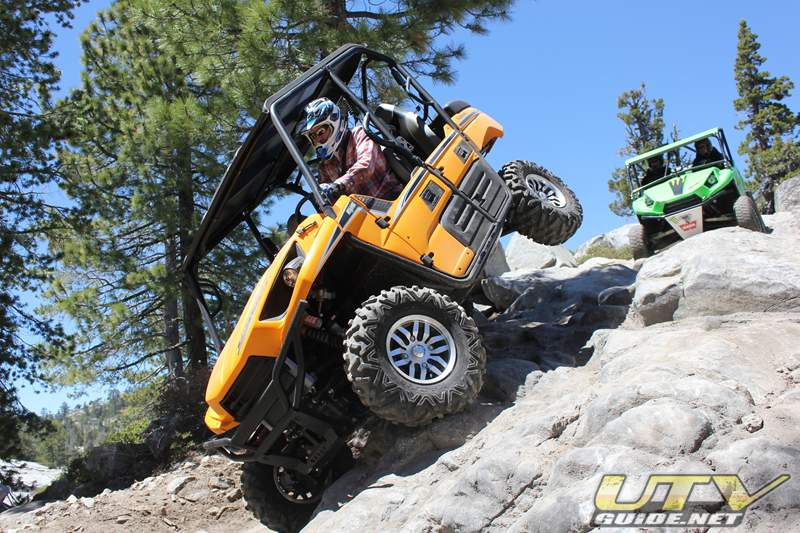 Kawasaki Teryx4 on the Rubicon Trail near Little Sluice