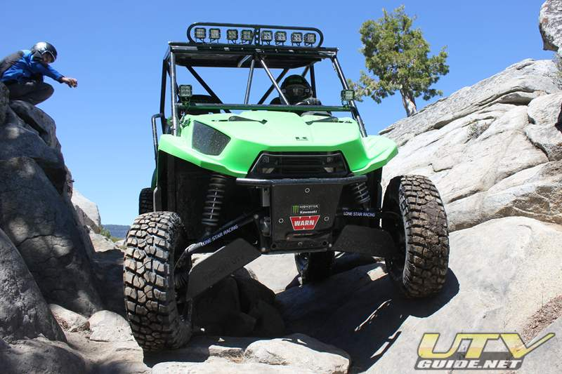 2011 Kawasaki Teryx on the Rubicon
