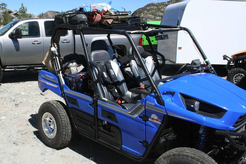 Kawasaki Teryx4 loaded for the Rubicon