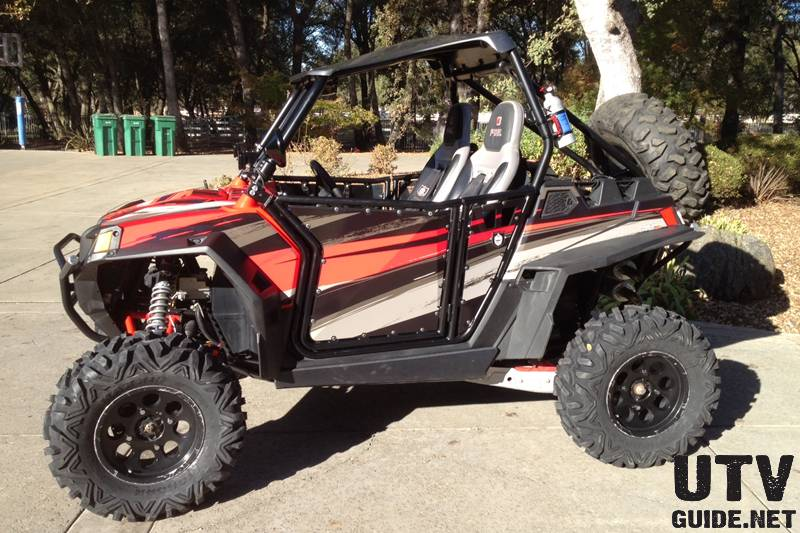 "Polaris RZR XP with 30"" Maxxis Bighorns"