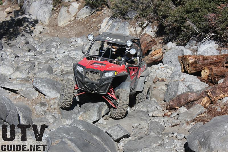 Polaris RZR XP in Little Sluice