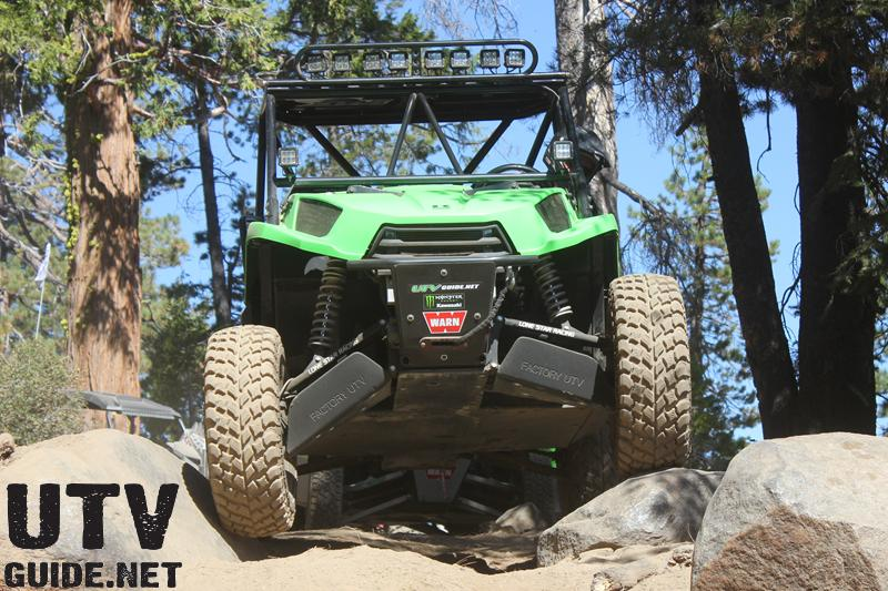 Kawasaki Teryx on the Rubicon