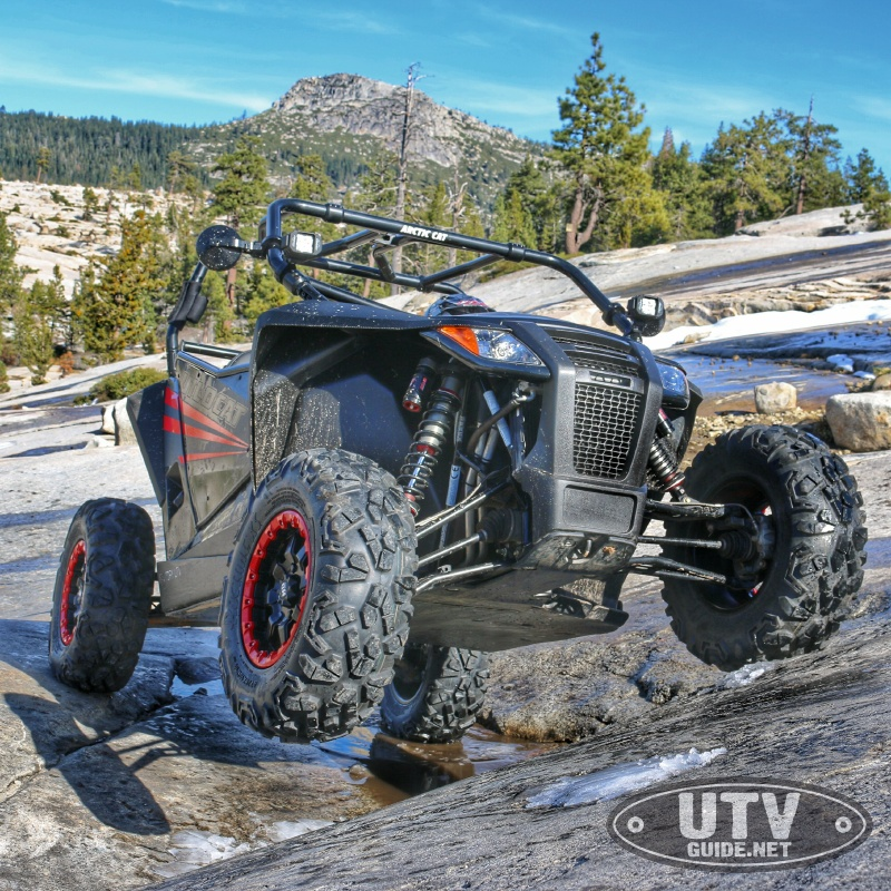 Arctic Cat Wildcat Sport on the Rubicon Trail