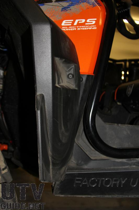 Polaris RZR XP Fender Flare
