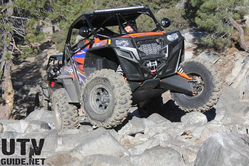 Polaris RZR XP 900s on the Rubicon Trail