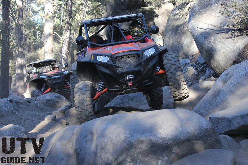 Polaris RZR XP on the Rubicon Trail