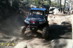 Polaris RZR on the Rubicon Trail