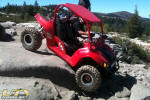 UTV on the Rubicon Trail
