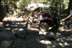 Polaris RZR on the Rubicon Trail - Bottom of Walker Hill