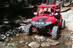 Polaris RZR on the Rubicon Trail near Ellis Creek