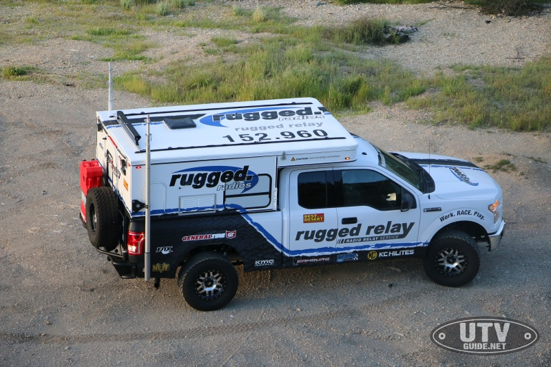 Rugged Radios Relay Vehicle