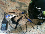 2-Way Motorcycle VHF Desert/Woods Radio Kit