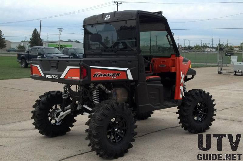 2013 RANGER XP 900 Orange Madness LE with EPS