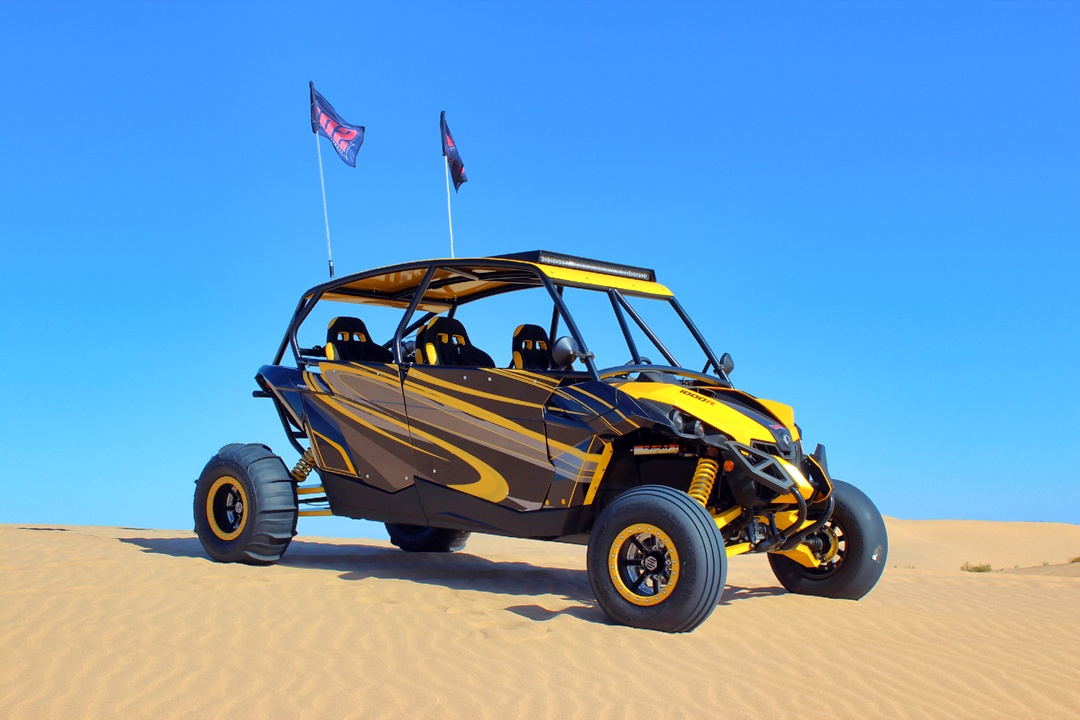 Can-Am Maverick MAX 1000R x-rs