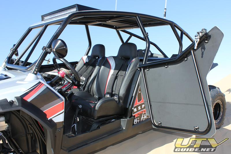 Polaris RZR XP 4 with opening doors