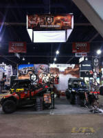 Pro Armor Booth at SEMA 2011