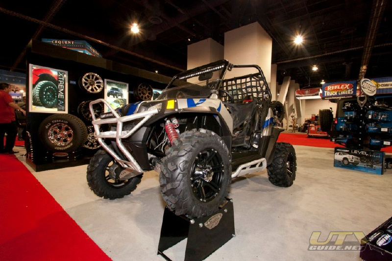 Polaris RZR S with Pro Comp Tires at SEMA 2011
