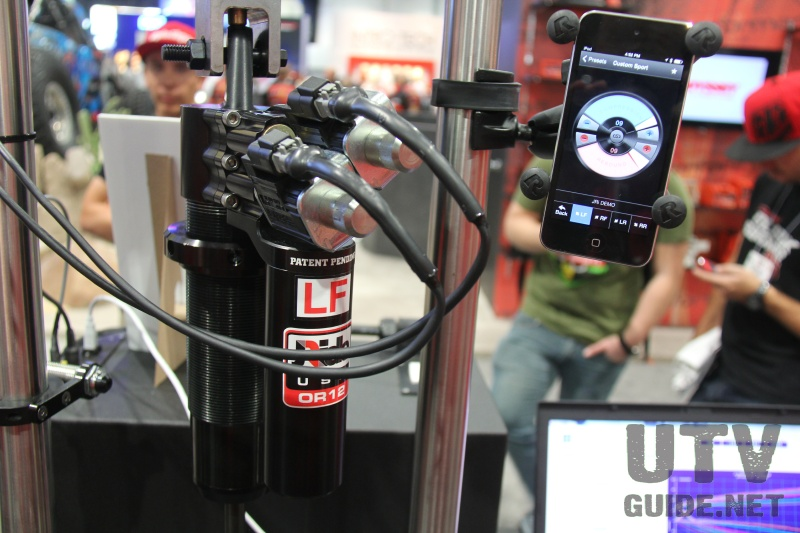 JRi smartphone adjustable shocks