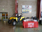 UTVGuide.net booth - 2011 Can-Am Commander 1000 XT