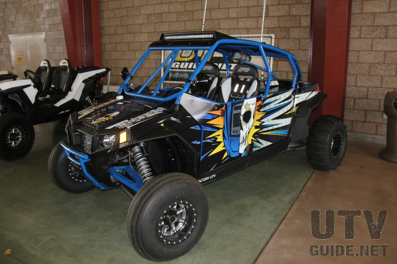 Polaris RZR XP 900 H.O. Jagged X Edition