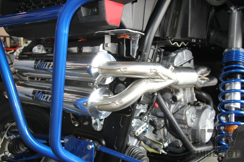 Muzzys Performance Dual Exhaust for the XP 1000