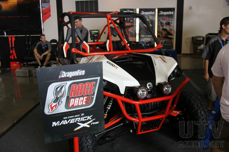 DragonFire Race Pace products for the Can-Am Maverick
