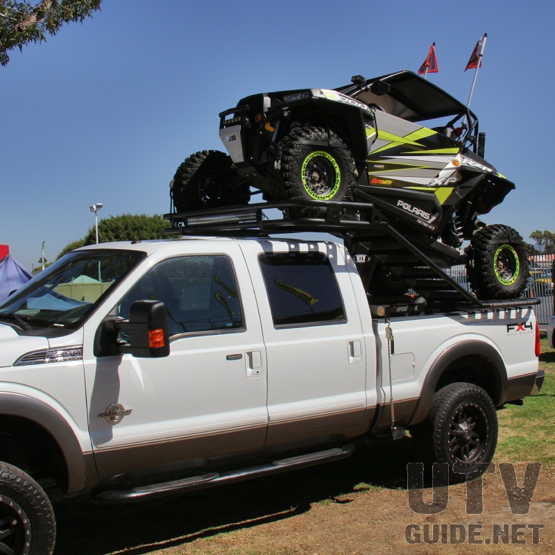 RZR XP 1000 on Truck Rack