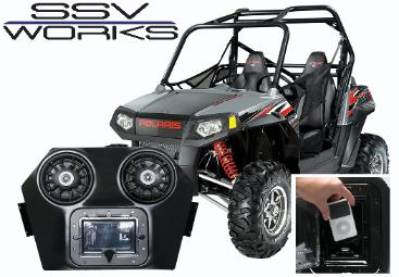 SSV Works Polaris RZR Audio System
