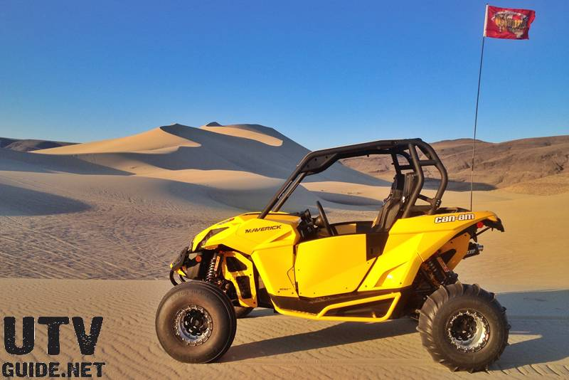 Can-Am Maverick 1000R at Sand Mountain, NV